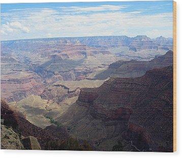 Majestic Grand Canyon Wood Print by Mitch Hino