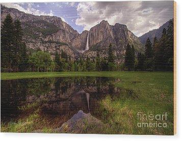 Majestic Reflections Wood Print