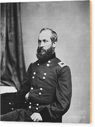 Major General Garfield, 20th American Wood Print by Chicago Historical Society
