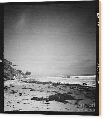 Wood Print featuring the photograph Malibu Peace And Tranquility by Nina Prommer