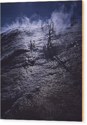 Wood Print featuring the photograph Mammoth Steam by J L Woody Wooden