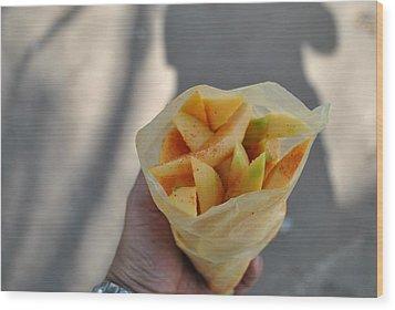 Mango Mix Wood Print by Nimmi Solomon
