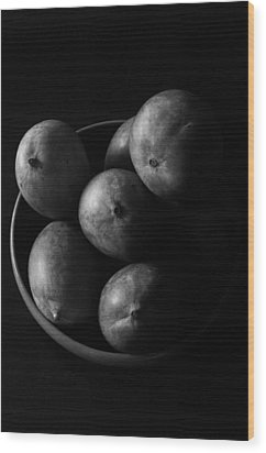 Mangoes Wood Print by Mauricio Jimenez