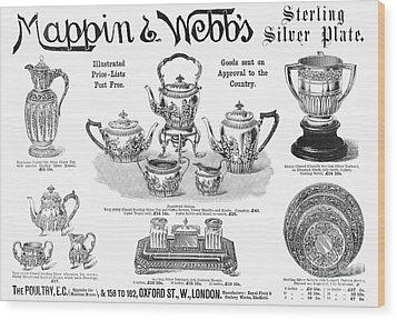 Mappin & Webbs, 1892 Wood Print by Granger