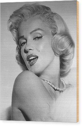 Marilyn Monroe, Ca. Mid 1950s Wood Print by Everett