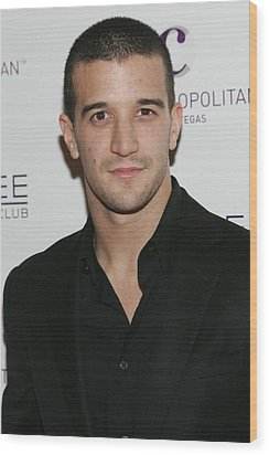 Mark Ballas At Arrivals For Kim Wood Print by Everett