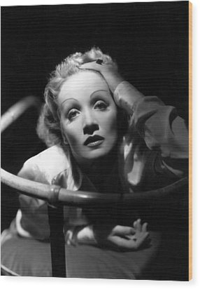 Marlene Dietrich, 1930s Wood Print by Everett