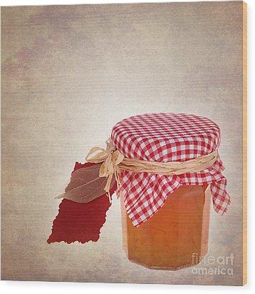 Marmalade Gift Vintage Wood Print by Jane Rix