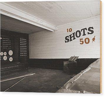Marshall Hall Shooting Gallery Wood Print by Jan W Faul