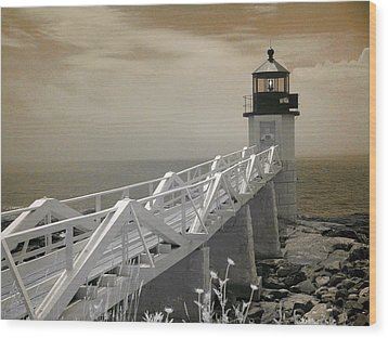 Marshall Point Wood Print by PMG Images