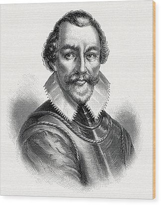 Martin Frobisher, English Explorer Wood Print by Cci Archives