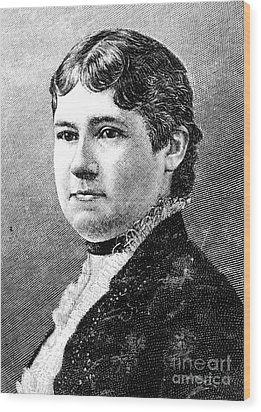 Mary Arthur Mcelroy Wood Print by Granger