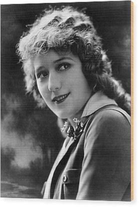 Mary Pickford, Ca. 1920s Wood Print by Everett