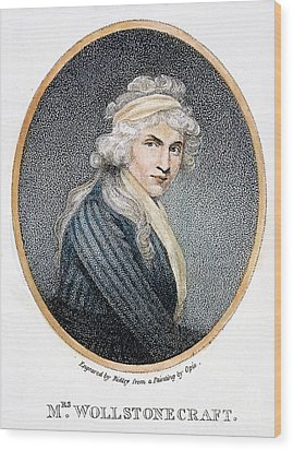 Mary W. Godwin (1759-1797) Wood Print by Granger