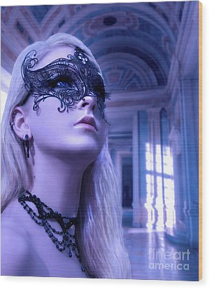 Masquerade Ball  Wood Print by Eugene James