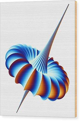 Mathematical Model, Artwork Wood Print by Pasieka