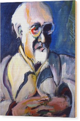 Wood Print featuring the painting Matisse by Les Leffingwell