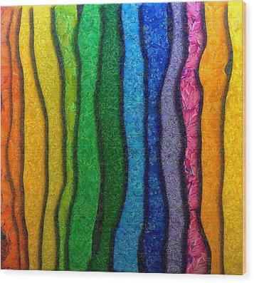 Matiz Wood Print by RochVanh