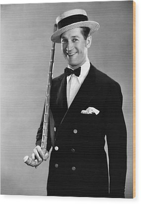 Maurice Chevalier, 1930 Wood Print by Everett