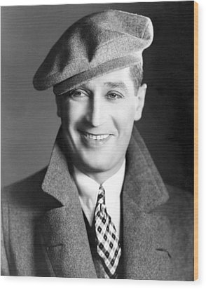 Maurice Chevalier, Ca. 1930 Wood Print by Everett