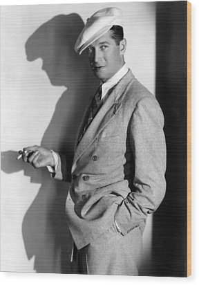 Maurice Chevalier, Ca. 1930s Wood Print by Everett