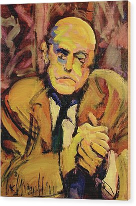 Max Beckman Wood Print by Les Leffingwell