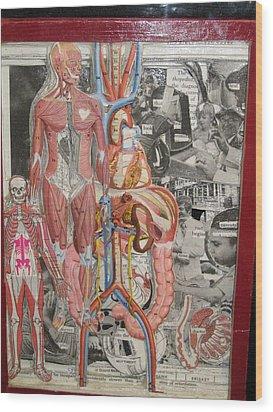 Medical Wood Print by Francisco Magos