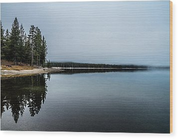 Wood Print featuring the photograph Medicine Lake  by Randy Wood