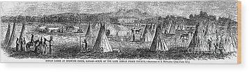 Medicine Lodge Creek, 1867 Wood Print by Granger