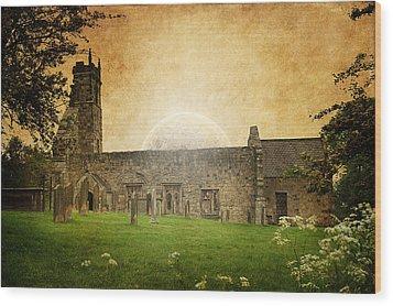 Medieval Church Wood Print by Svetlana Sewell