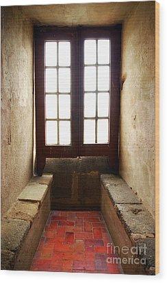 Medieval Window Wood Print by Carlos Caetano