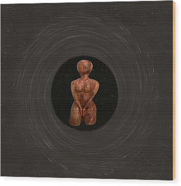Meditation Wood Print by Eric Kempson
