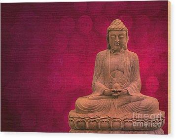 Meditation Wood Print by Hannes Cmarits