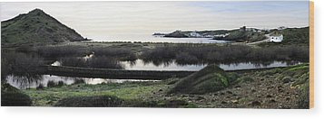 Wood Print featuring the photograph Mediterranean View by Pedro Cardona