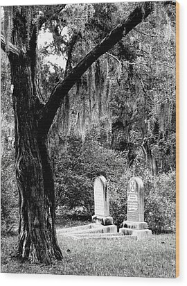 Wood Print featuring the photograph Meet Me At The Old Tree by Lyn Calahorrano
