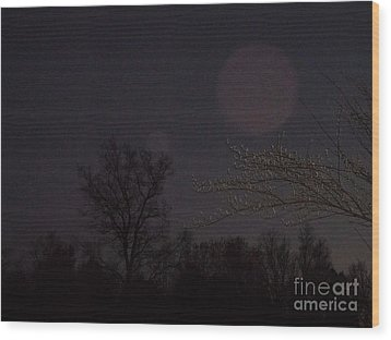 Megaorbs Wood Print
