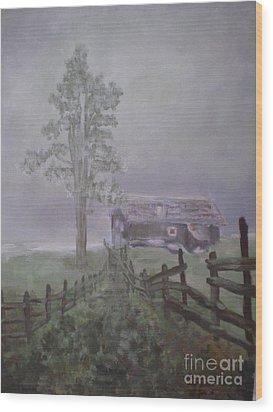 Melancholia Wood Print by Annemeet Hasidi- van der Leij