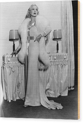 Melody In Spring, Ann Sothern, 1934 Wood Print by Everett