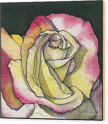 Memories Wood Print by Nora Blansett