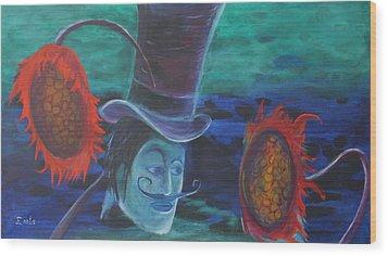 Mephisto Wood Print