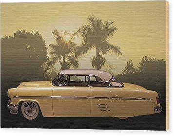 Wood Print featuring the photograph Merc Slammer by Bill Dutting