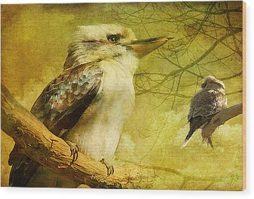 Merry Merry King Of The Bush  Wood Print by Margaret Hormann Bfa
