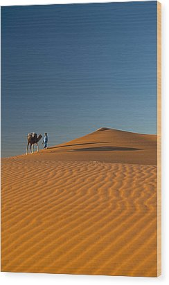 Merzouga, Morocco Wood Print by Axiom Photographic