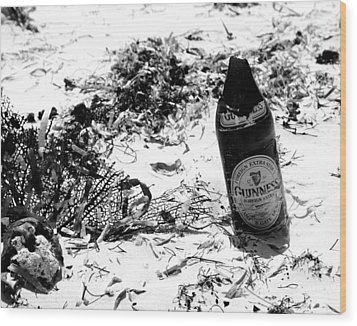Message In The Bottle Wood Print by Jim McDonald Photography