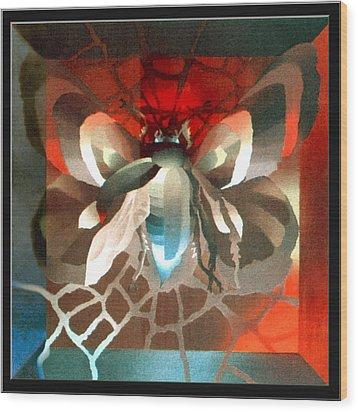 Metamorphosis 1975 Wood Print by Glenn Bautista