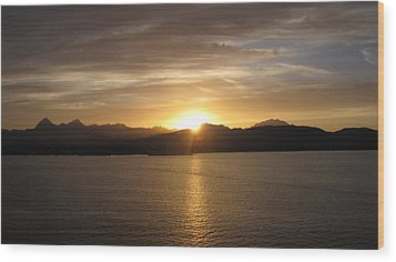 Wood Print featuring the photograph Mexican Sunset by Marilyn Wilson