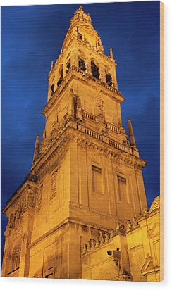 Wood Print featuring the photograph Mezquita Tower by Lorraine Devon Wilke