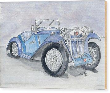 Mg 1926 Wood Print by Eva Ason