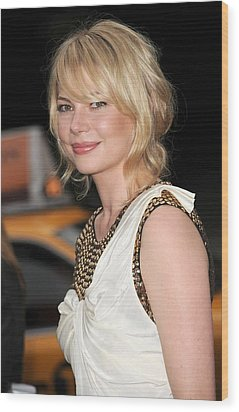 Michelle Williams Wearing A 3.1 Phillip Wood Print by Everett