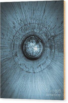 Mighty Titan II Wood Print by Dan Julien
